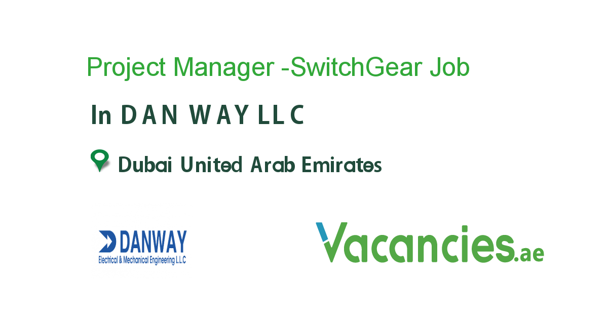 Project Manager -SwitchGear