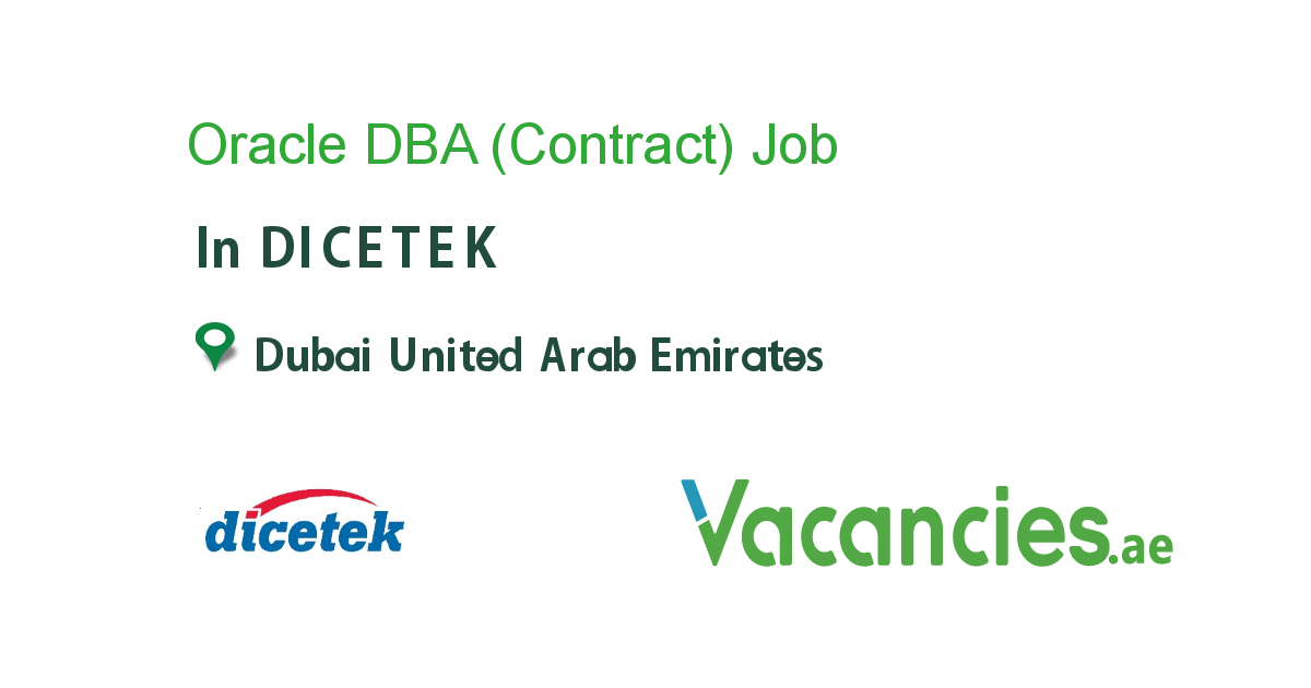 Oracle DBA (Contract)
