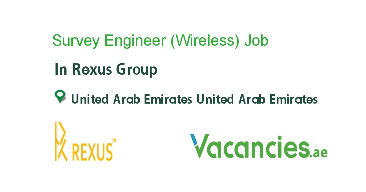 Survey Engineer (Wireless)