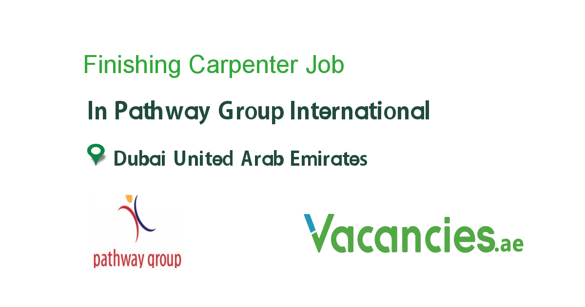 Urgently Required Finishing Carpenter - Vacancies.ae