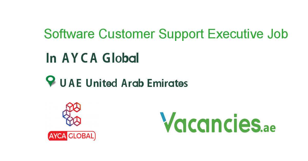Software Customer Support Executive